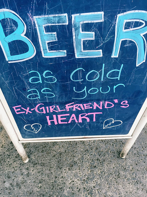 Beer - As cold as your ex-girlfriend's heart by Jesse Weinberg for Stocksy United