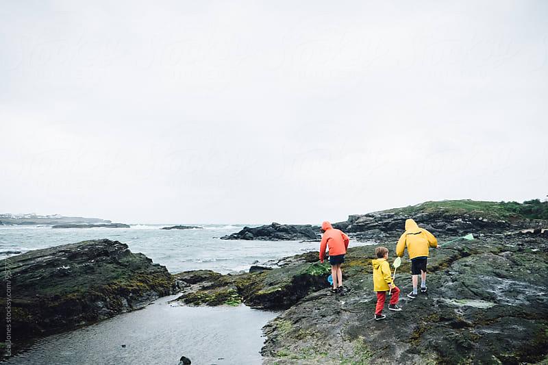 kids on the sea side by Léa Jones for Stocksy United