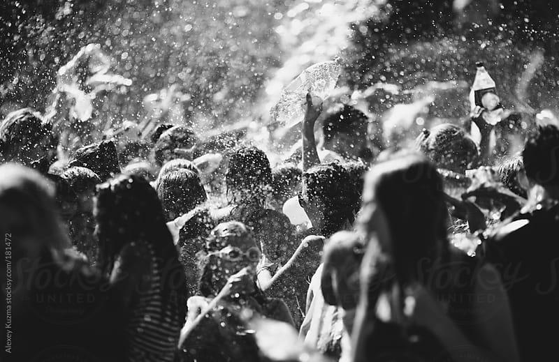 crazy water war by Alexey Kuzma for Stocksy United