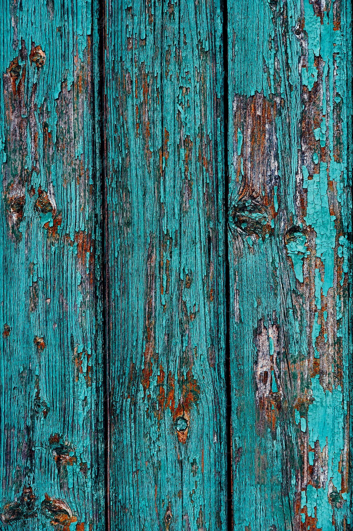 Wood texture background. Old wood painted in blue by Dimitrije Tanaskovic -  Stocksy United