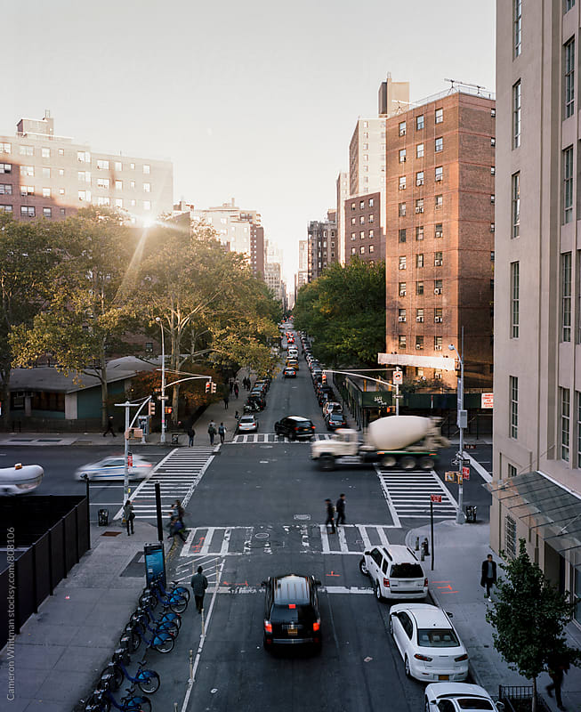 New York City Intersection by Cameron Whitman for Stocksy United