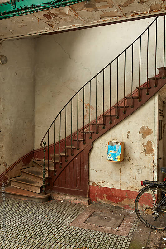 Old stairs by Bratislav Nadezdic for Stocksy United