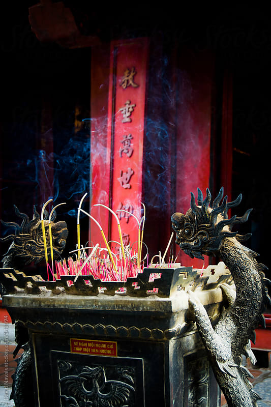 Incense and dragons by David Navais for Stocksy United