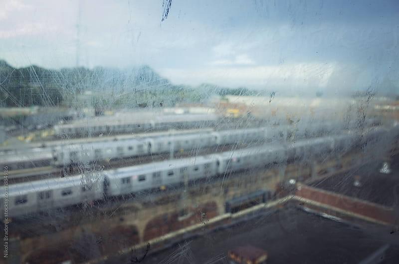 Brooklyn train depot by Nikola Bradonjic for Stocksy United