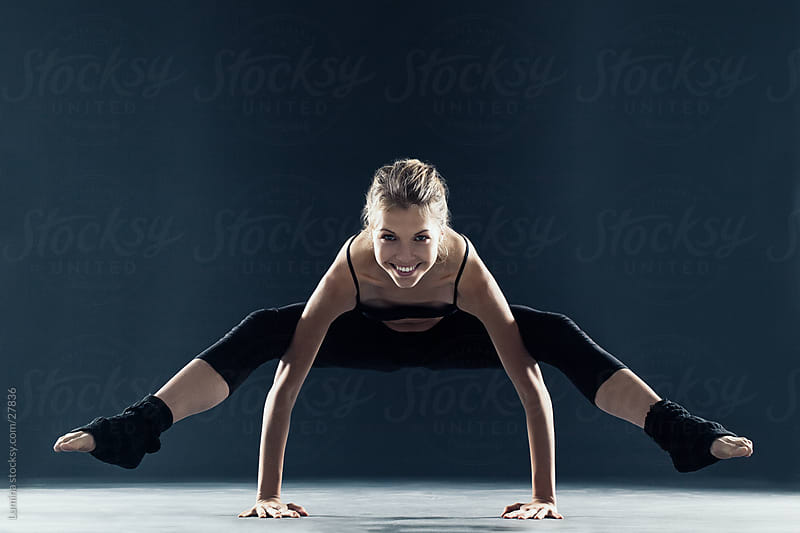 Young Woman Exercising by Lumina for Stocksy United