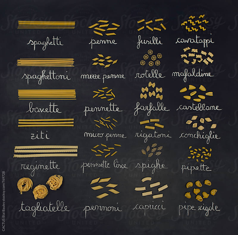 Pasta classification by CACTUS Blai Baules for Stocksy United