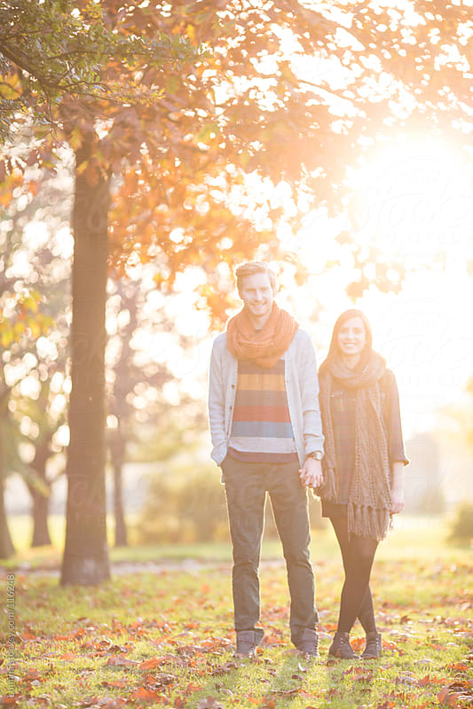 Young Couple in Autumn by Lumina for Stocksy United