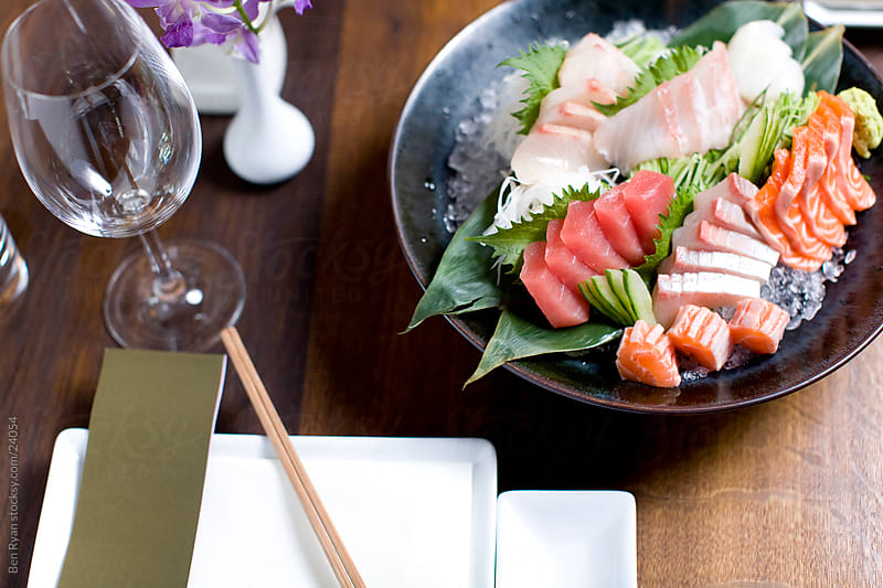 Japanese themed meal by Ben Ryan for Stocksy United