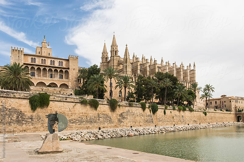 Almudaina Palace and Cathedral of Palma de Majorca by Marilar Irastorza for Stocksy United