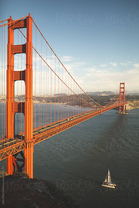 golden gate by Jake Elko for Stocksy United