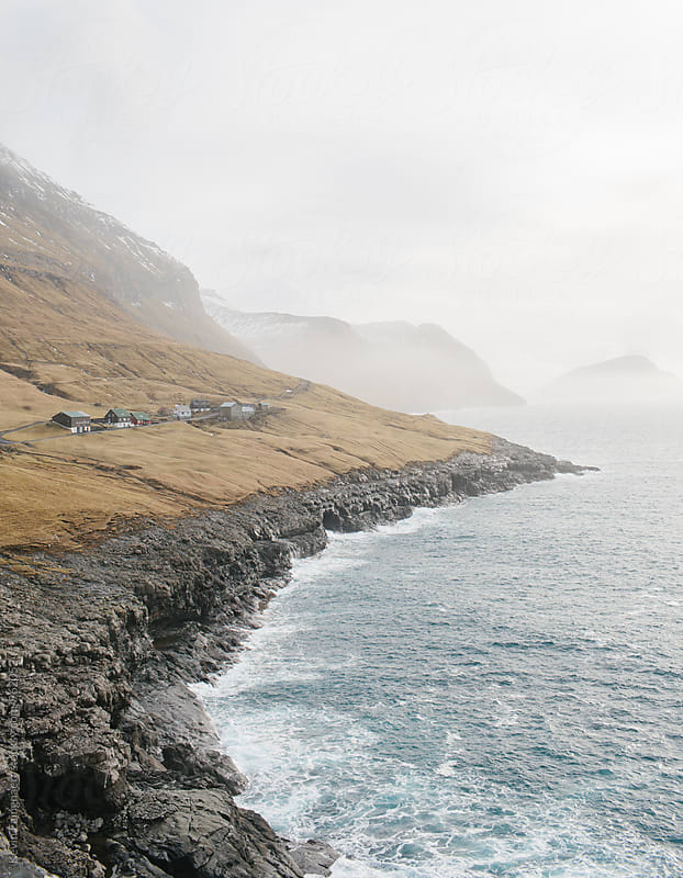 Faroe village by Kevin Faingnaert for Stocksy United