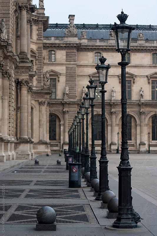 Musée du Louvre by Chris Martin for Stocksy United