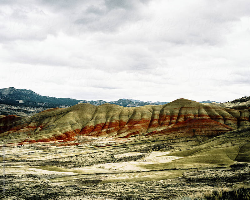Painted Hills - John Day Fossil Beds, Oregon  by Adam Naples for Stocksy United