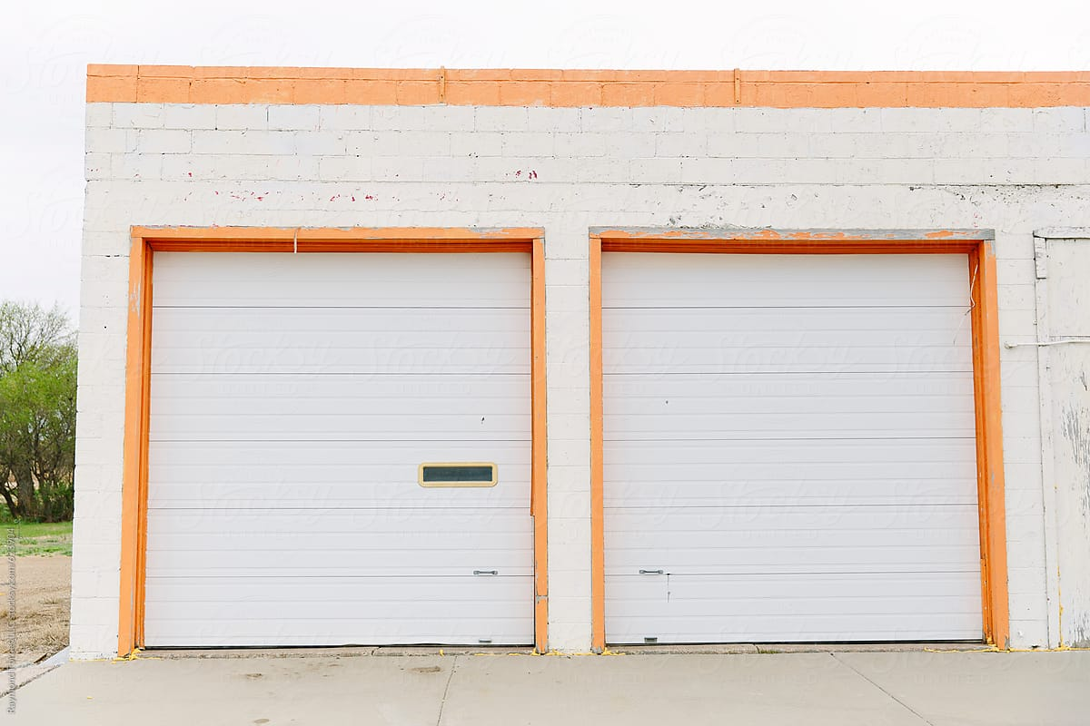 Garage Doors In South Dakota Stocksy United