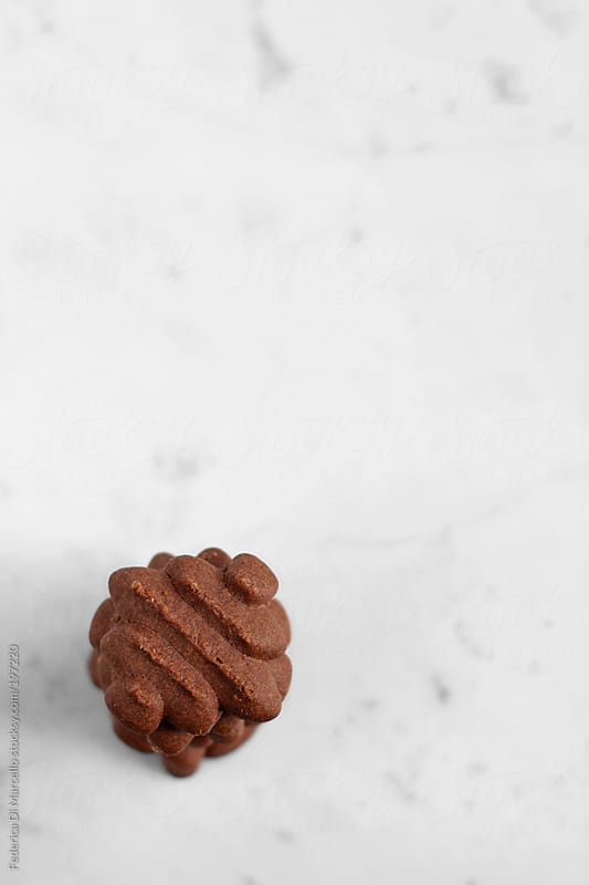 Chocolate and pink pepper shortbread by Federica Di Marcello for Stocksy United