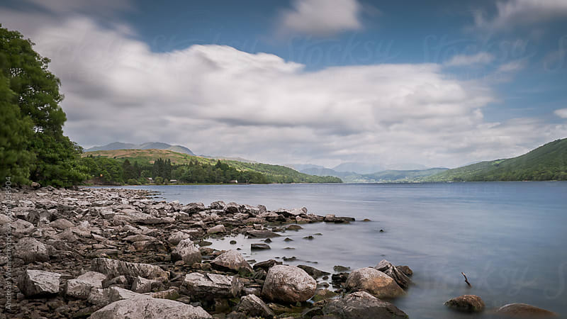 Long Exposure of Coniston Water by Andreas Wonisch for Stocksy United