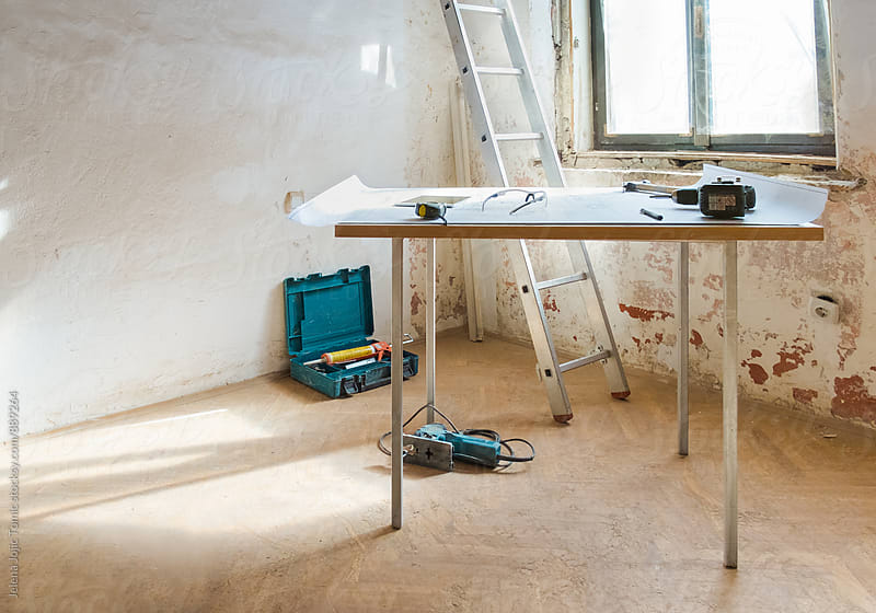 Contractor desk by Jelena Jojic Tomic for Stocksy United