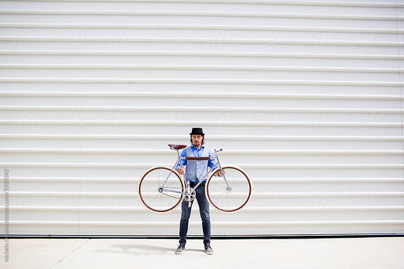 It's my bike! by michela ravasio for Stocksy United