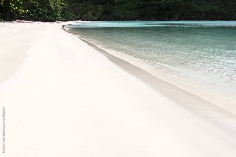 White Sand Beach in St. John, U.S. Virgin Islands, West Indies by Holly Clark for Stocksy United