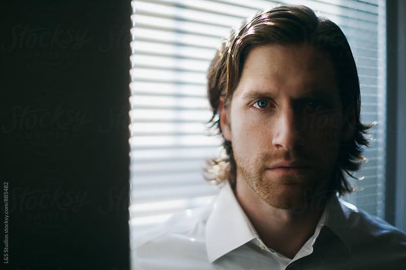 Window Light Portrait by L&S Studios for Stocksy United