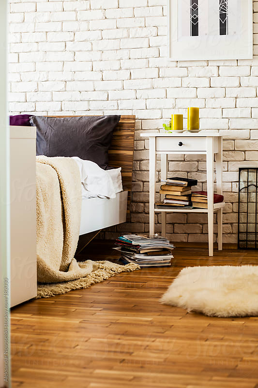 Cosy Bedroom by Aleksandar Novoselski for Stocksy United