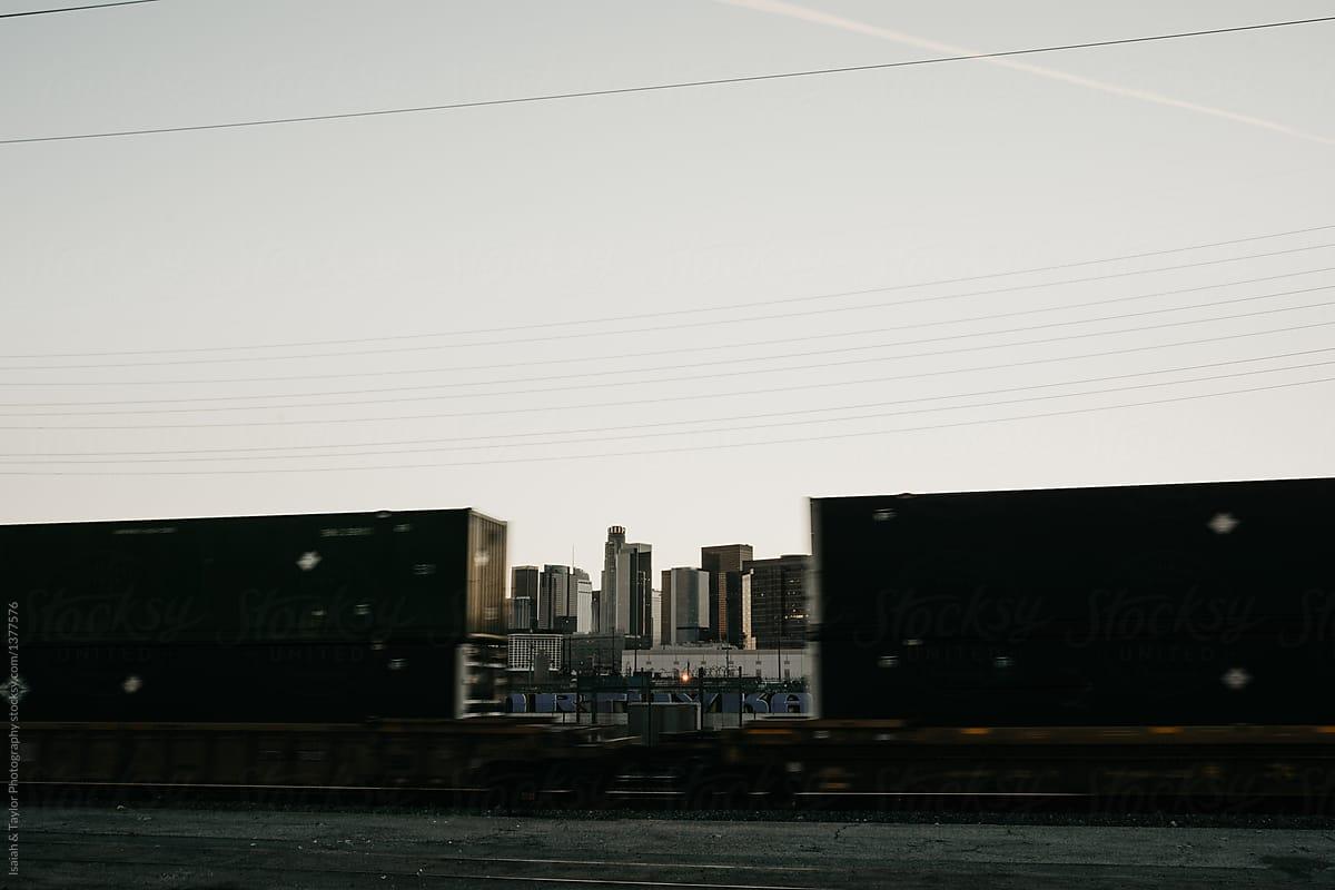 Train Framing City | Stocksy United