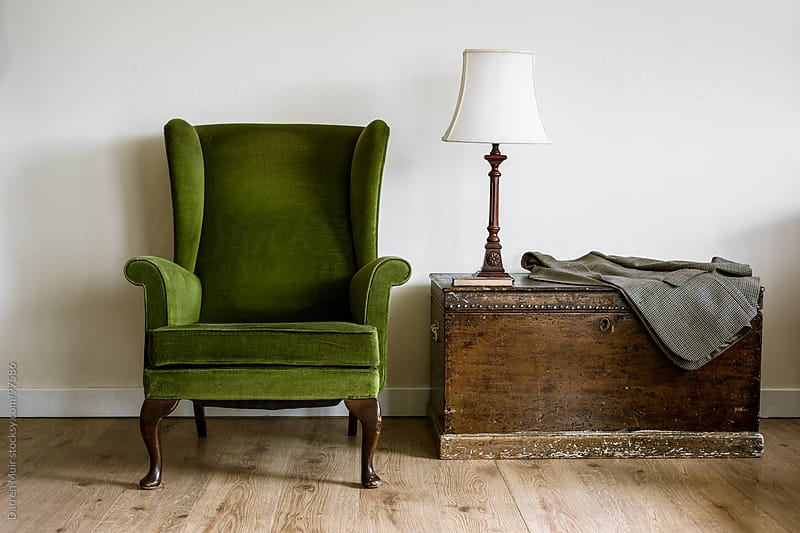 Reading chair.  by Darren Muir for Stocksy United