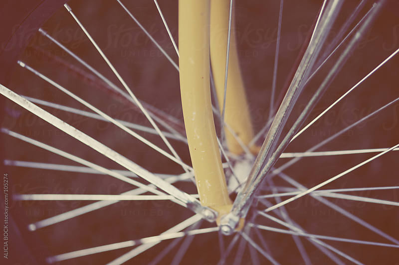 Bike Spokes by ALICIA BOCK for Stocksy United