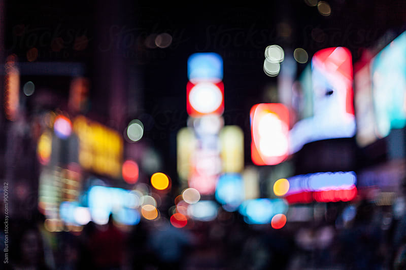 Time Square by Sam Burton for Stocksy United