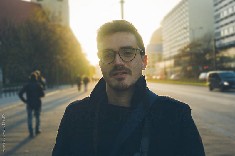 Hipster Portrait by Good Vibrations Images for Stocksy United