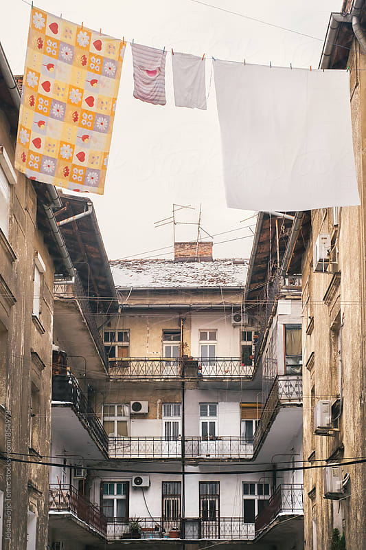 Old corner of the city by Jelena Jojic Tomic for Stocksy United