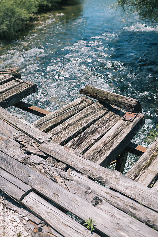 Beautiful waterscape on a sunny day by Maja Topcagic for Stocksy United