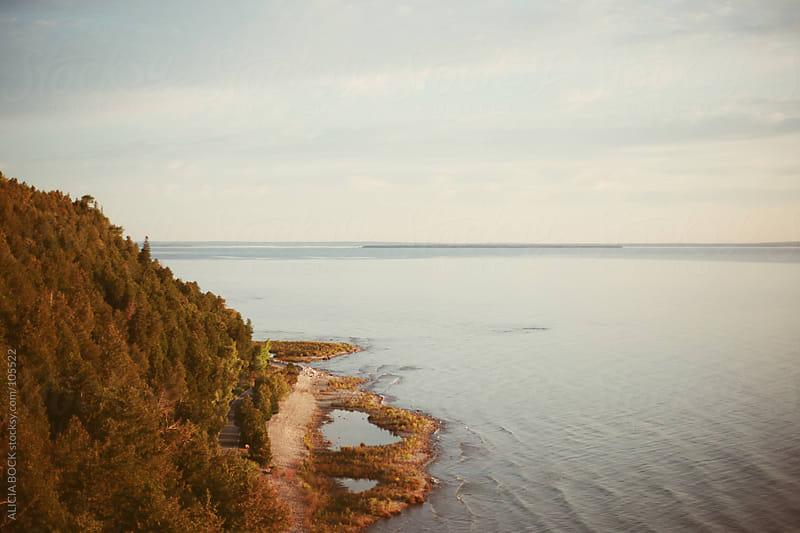 Mackinac Island and the Straits (Horizontal) by ALICIA BOCK for Stocksy United