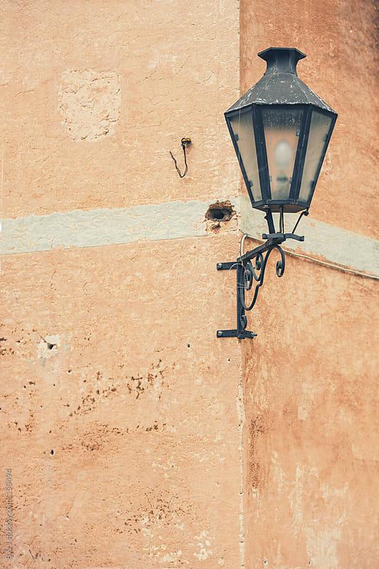 Retro street lamp by B & J for Stocksy United