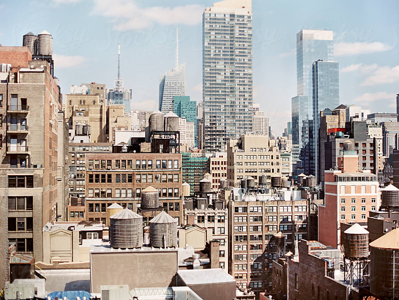 New York City Rooftops  by Vicki Grafton Photography for Stocksy United