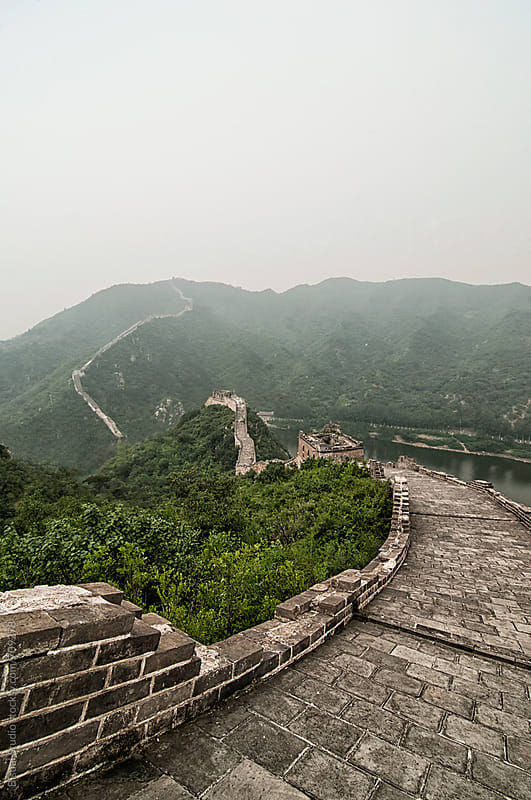 Great Wall of China by Bisual Studio for Stocksy United