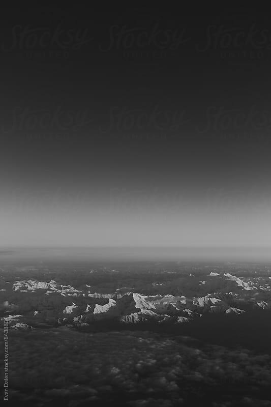 Alaskan Mountain Range by Evan Dalen for Stocksy United