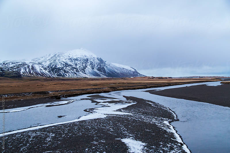 Along the Ring Road in Iceland by Kimberly Kendall for Stocksy United