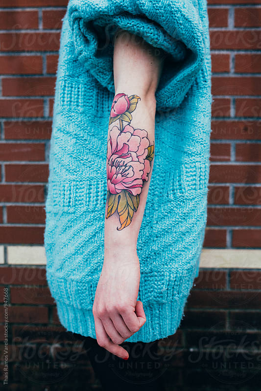 tattooed arm by Thais Ramos Varela for Stocksy United