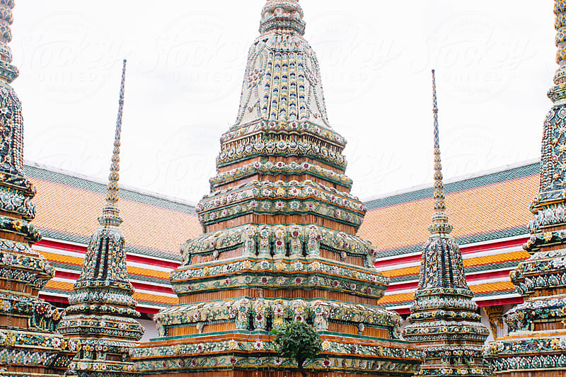 Temple, wat, pho, bankok, travel, thailand, buddha by Jesse Morrow for Stocksy United
