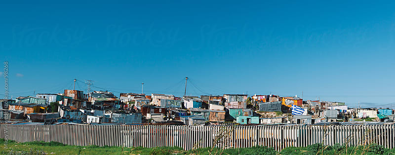 Panoramic of a South African Township by Micky Wiswedel for Stocksy United