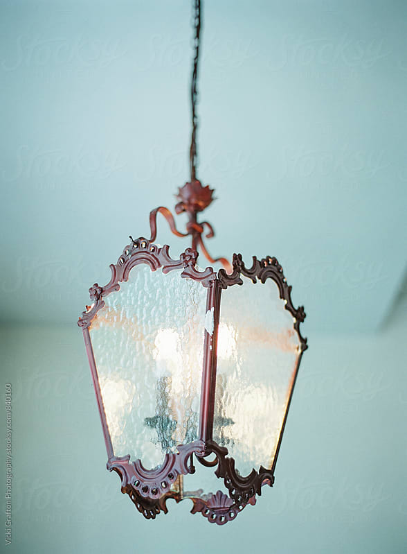 Vintage Chandelier in Germany  by Vicki Grafton Photography for Stocksy United