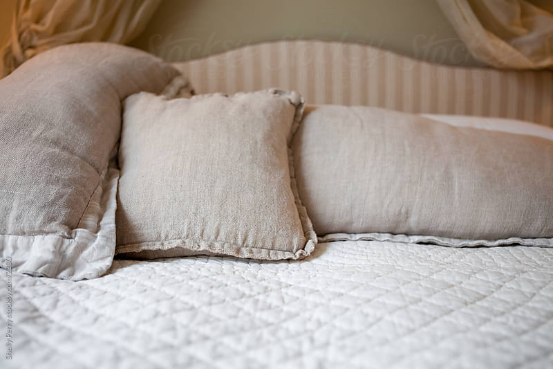 Bed Pillows by Shelly Perry for Stocksy United