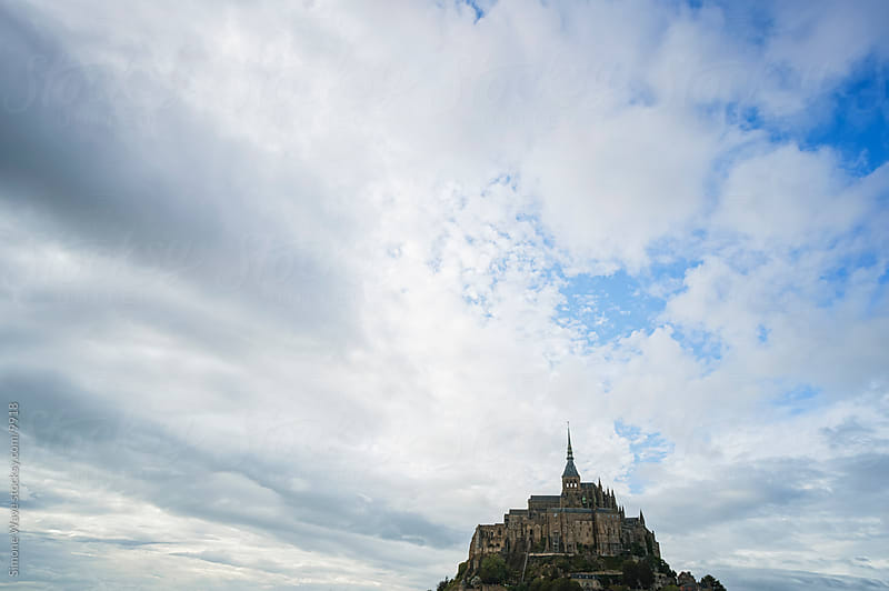Mont Saint-Michel by Simone Becchetti for Stocksy United