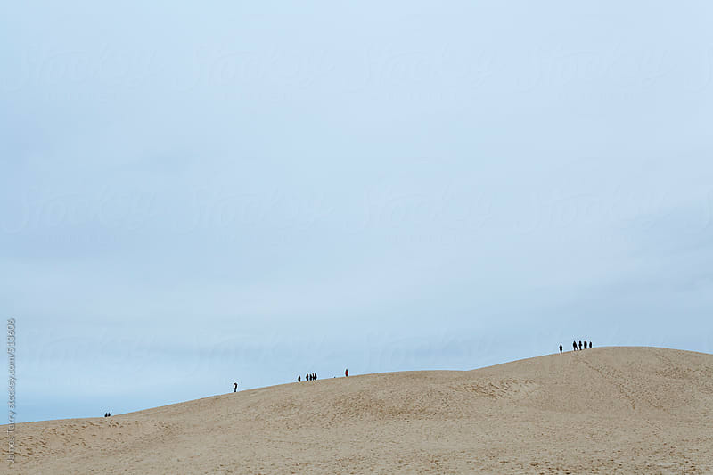 On top of the dunes by James Tarry for Stocksy United