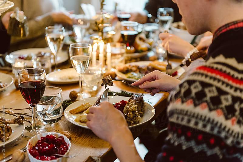 Christmas Dinner by Jen Grantham for Stocksy United