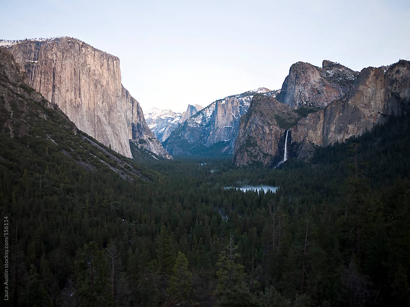 Amazing View of Yosemite National Park by Laura Austin for Stocksy United