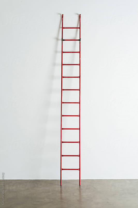Ladder on the wall by Simone Becchetti for Stocksy United