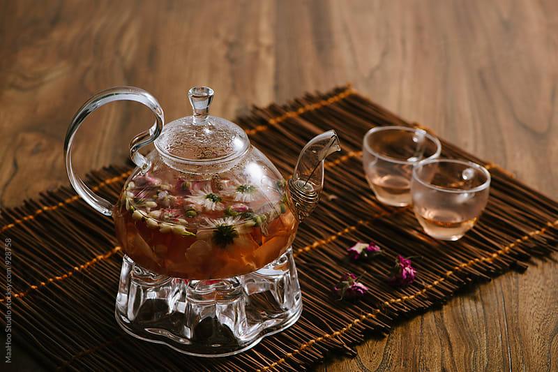 Rose tea by MaaHoo Studio for Stocksy United