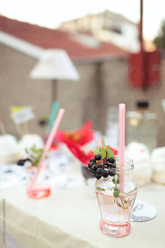 Cold summer drink  by Ani Dimi for Stocksy United